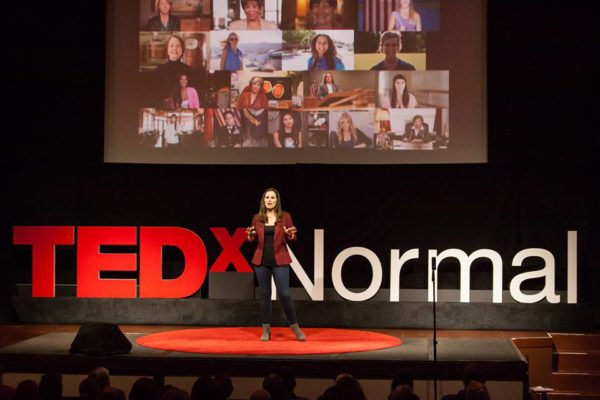 TEDxNormal Stage